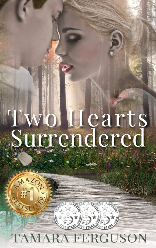 Two Hearts Surrendered (Two Hearts Wounded Warrior Romance #1)