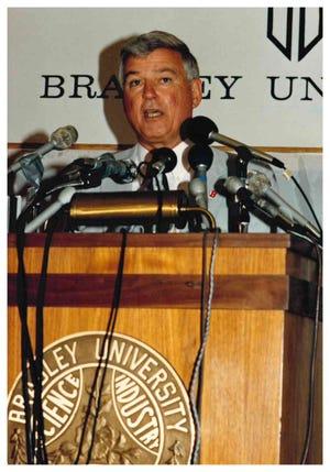 Former Bradley athletics director Ron Ferguson