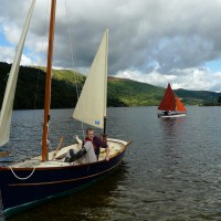 Ullswater - Messing around in boats in the Lake District