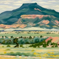 Georgia O'Keeffe in New Mexico and New York