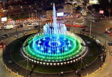 Код фонтане на Славији засвирале гусле