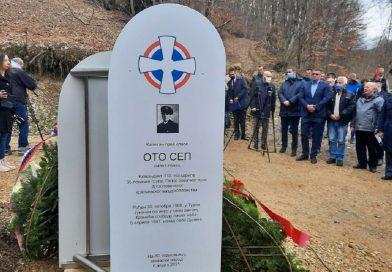 Šumadinci podigli spomenik Nemcu