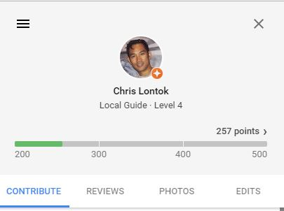 Google Local Guide Level 4