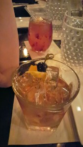 Old Fashioned and Blackbird Sangree
