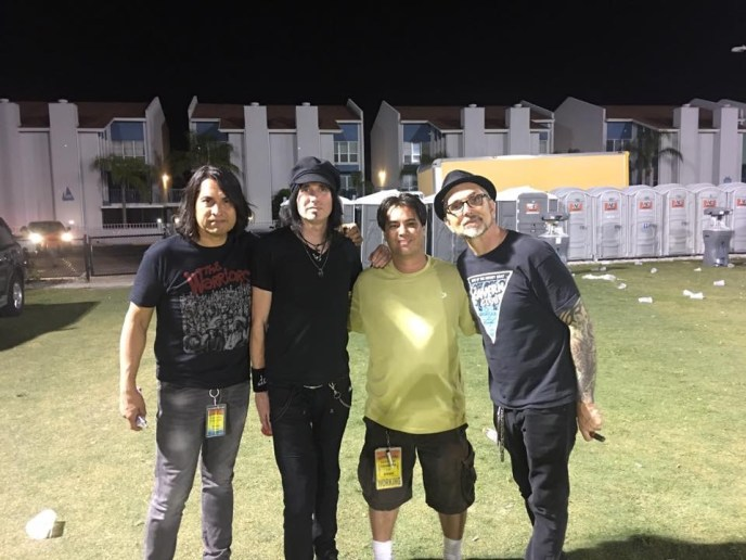 Hanging with the guys from Everclear, Summerland Tour 2016