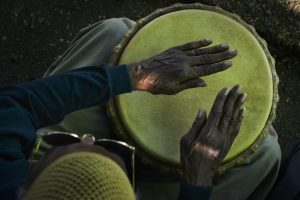 Drum Circle in Meridian Hill (Malcolm X) Park