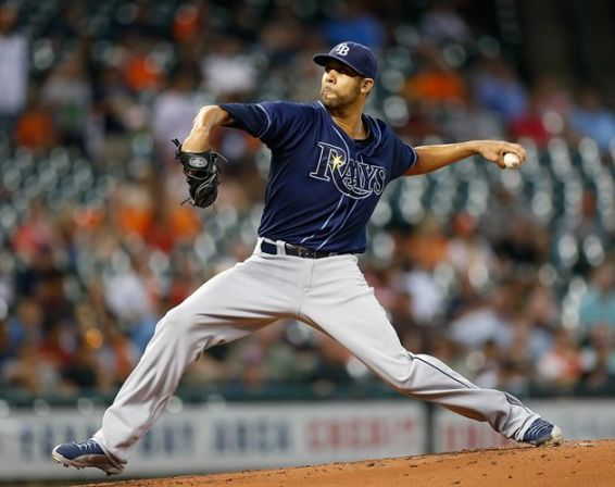 David Price allows three hits in seven innings and strikes out a season-high 10 in the Rays' fourth straight victory. (Photo courtesy of Getty Images)