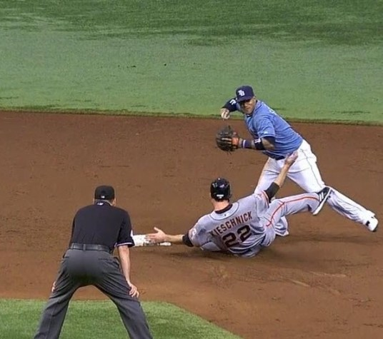 Hey Kieschnick, that was an unnecessarily dirty slide.