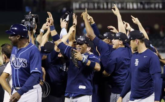 This picture speaks a thousand words. (Photo courtesy of the Tampa Bay Rays)