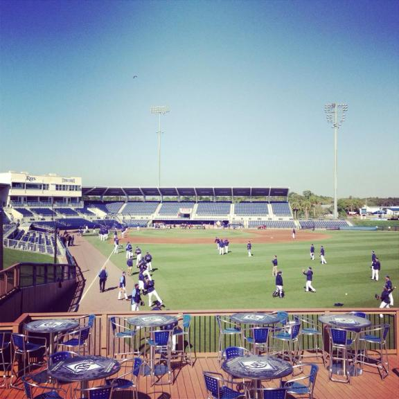 Rays pitchers and catchers will report to Port Charlotte on Valentine's Day -- the greatest gift Cupid could ever give us!