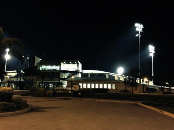 Goodnight Charlotte Sports Park, see you again next year. (Photo courtesy of Marc Topkin)