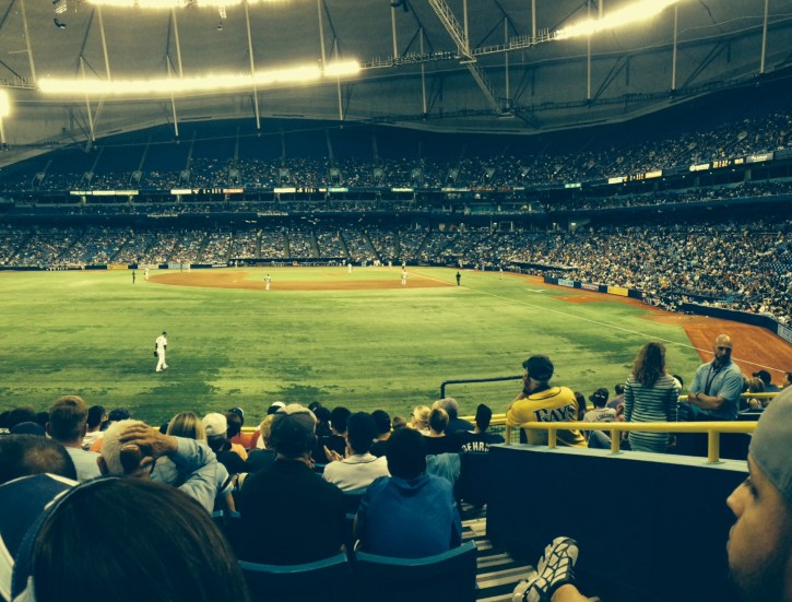 The Rays came back to beat the Yankees in grand fashion Friday night, beating up the Bronx Bombers by a score of 11-5 in front of 26,079 fans at Tropicana Field.
