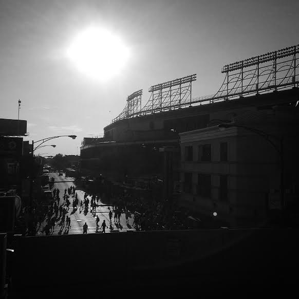 Enjoy a photo of Wrigley Field, taken during the Rays/Cubs series at the beginning of August. (Photo courtesy of Schmitty/X-Rays Spex)