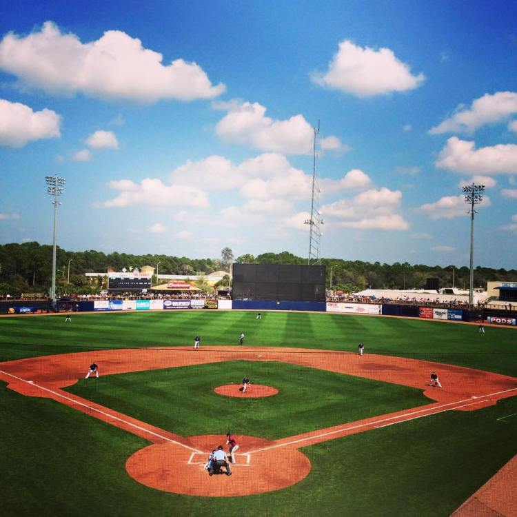 Charlotte Sports Park at game time. (Photo courtesy of the Tampa Bay Rays)