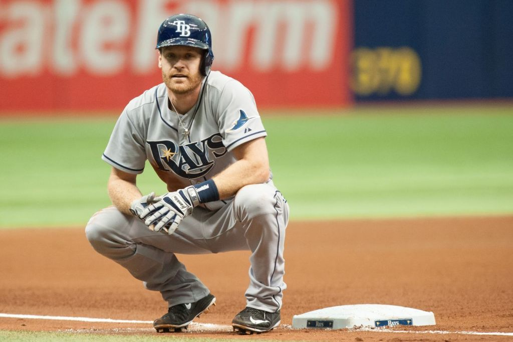 Logan Forsythe is reportedly close to inking a two-year deal with the Rays. (Photo Credit: Cliff McBride/Getty Images)