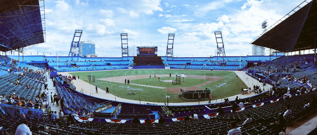 The Tampa Bay Rays will take on the Cuban National Team at Estadio Latinoamericano. (Photo Credit: Tampa Bay Rays)