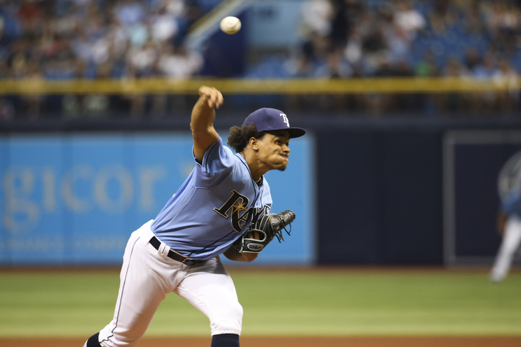 Chris Archer looks to pitch through the sixth inning for the first time this season tonight against the Orioles. (Photo Credit: Tampa Bay Times)