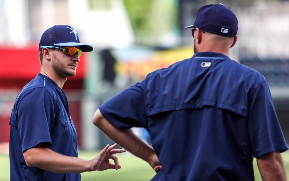 Jake Odorizzi (left) gets the start on Friday against the Twins. (Photo Credit: Tampa Bay Rays)