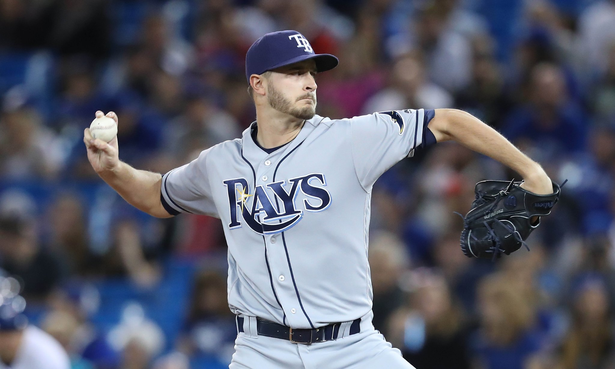 Jake Odorizzi gets the start in Monday's series opener against the Toronto Blue Jays. (Photo Credit: Tampa Bay Rays)