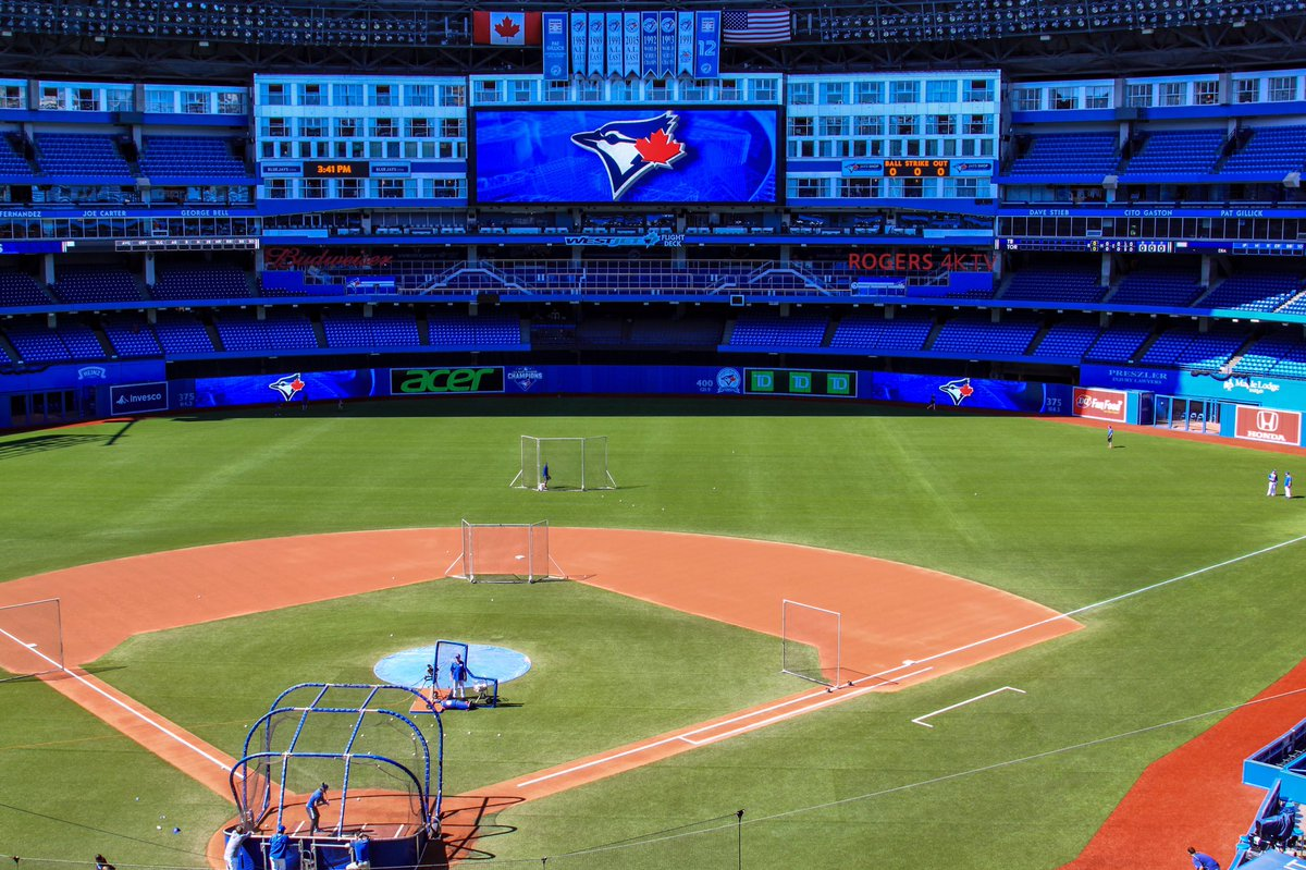 From one dome to another, the Rays will kick off a three-game road series against the Blue Jays tonight in Toronto. (Photo Credit: Tampa Bay Rays)