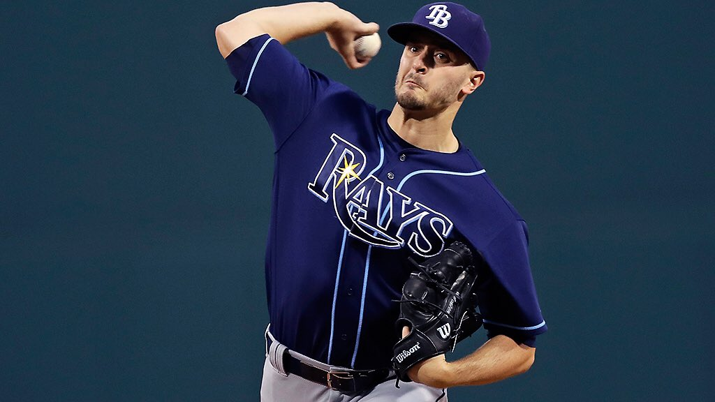 Jake Odorizzi posted another quality start on Tuesday; a three-run, six inning, seven strikeout affair. (Photo Credit: Tampa Bay Rays)