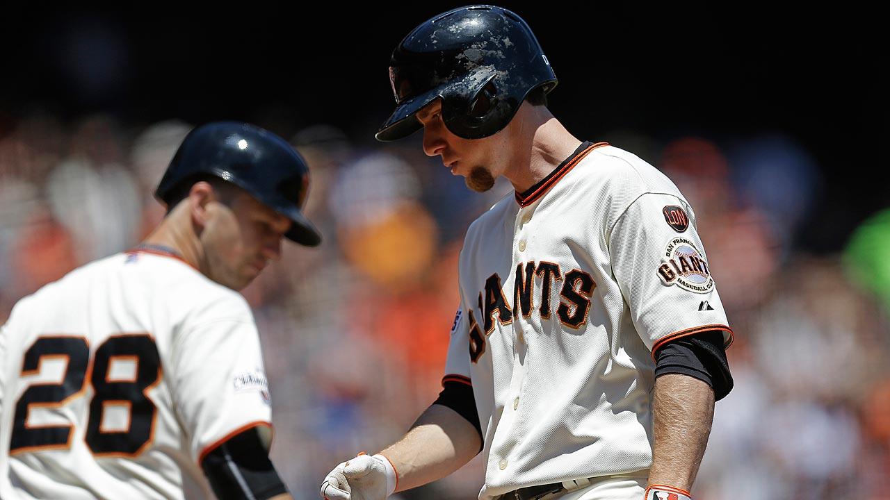 Matt Duffy, now formerly of the San Francisco Giants. (Photo Credit: MLB.com)