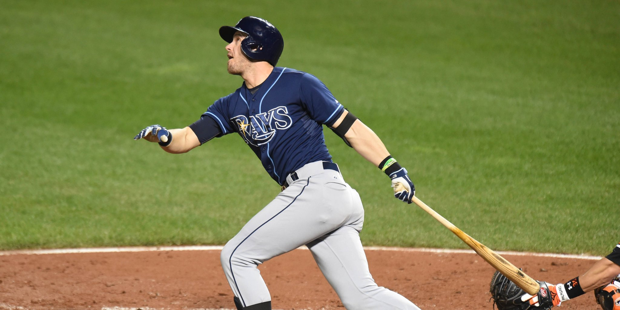 Evan Longoria has gone yard in three consecutive games. He'll try to make it four this afternoon. (Photo Credit: Tampa Bay Rays)