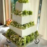 Cake flowers green hygendras