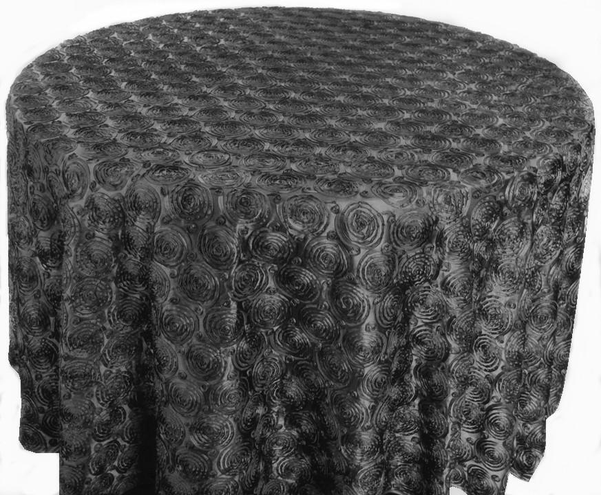 Pinchwheel Taffeta Tablecloth Rentals
