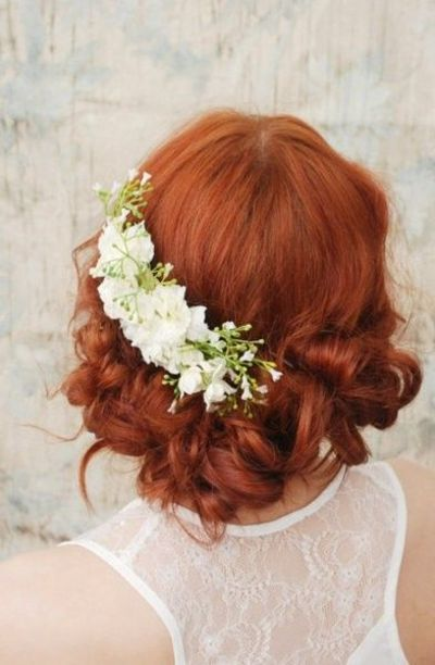 Flowers HeadPiece comb