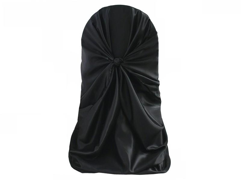 self-tie chair cover rental black