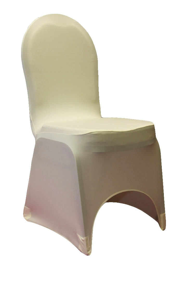 Spandex Chair Covers rentals Ivory
