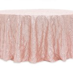 Scale Tablecloths Rentals - Blush