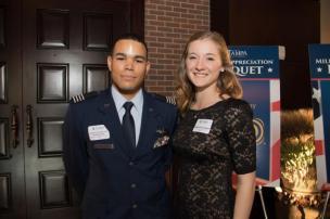 ROTC winners