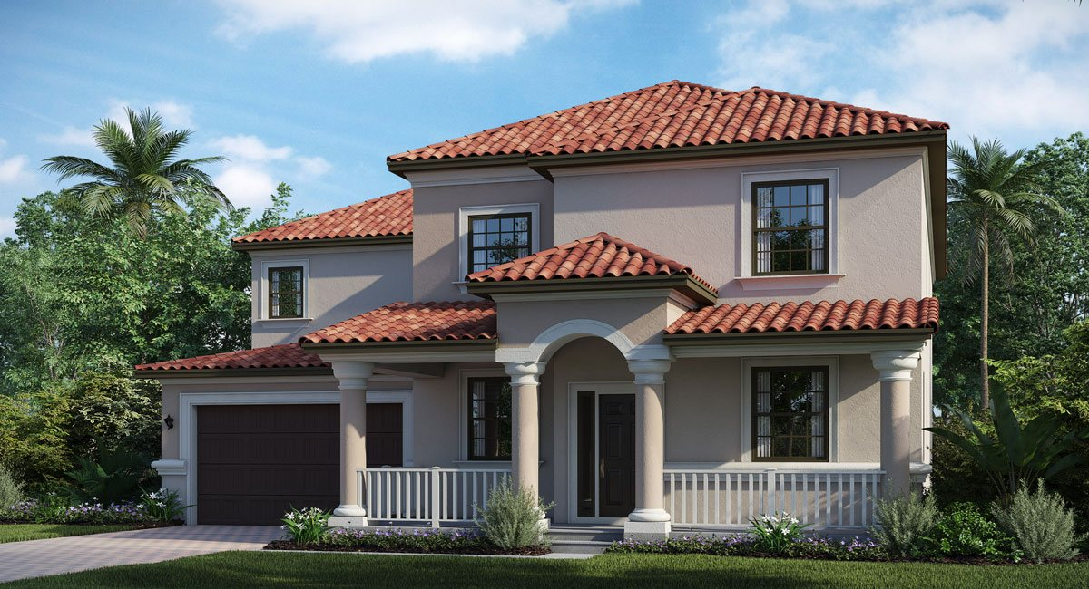 Concord-Station/The-Retreat Brandywine 4259 sq.ft. 6 Bedrooms 3.5 Bathrooms 3 Car Garage 2 Stories Land O Lakes Florida