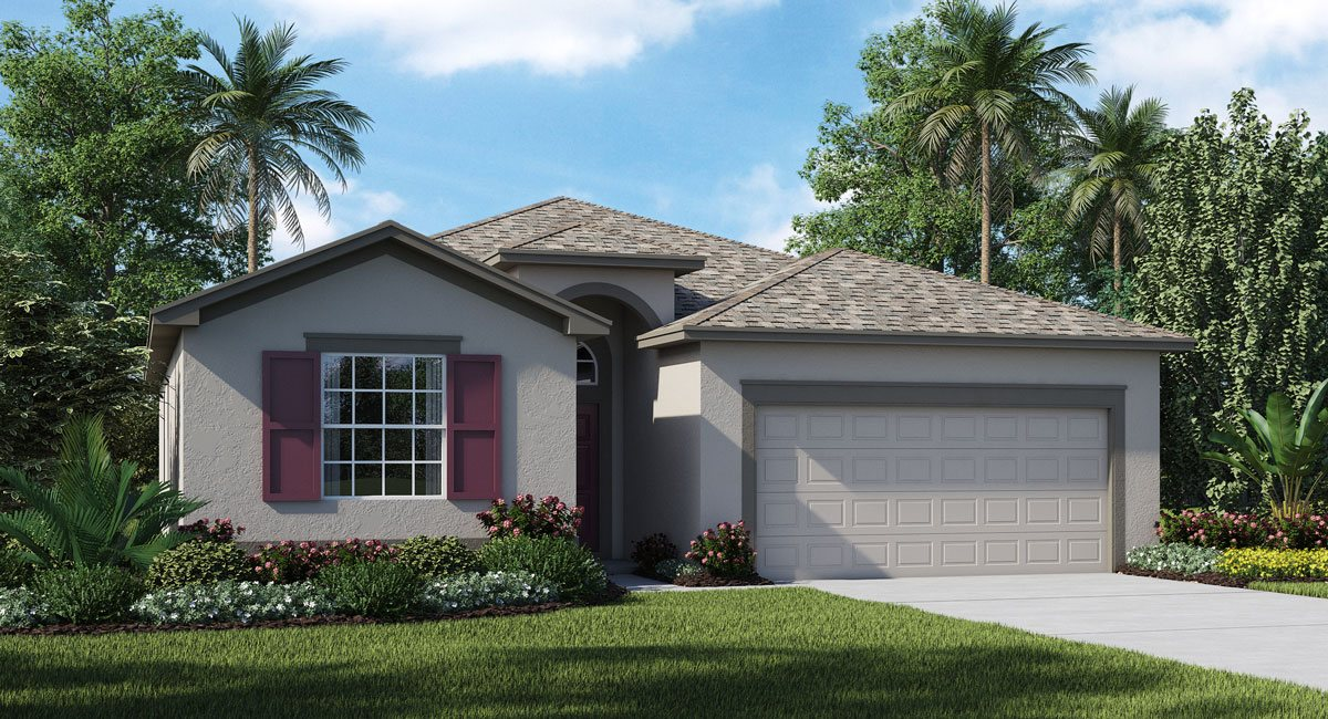 Concord-Station/Wellington-Estates/Hamilton 2032 sq.ft. 4 Bedrooms 3 Bathrooms 2 Car Garage 1 Story Land O Lakes Florida