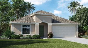 Concord-Station/Wellington-Estates/Harrington 2051 sq.ft. 3 Bedrooms 2 Bathrooms 2 Car Garage 1 Story Land O Lakes Florida