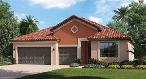Concord-Station/The-Retreat/Lagoon 2267 sq.ft. 4 Bedrooms 3 Bathrooms 3 Car Garage 1 Story Land O Lakes Florida