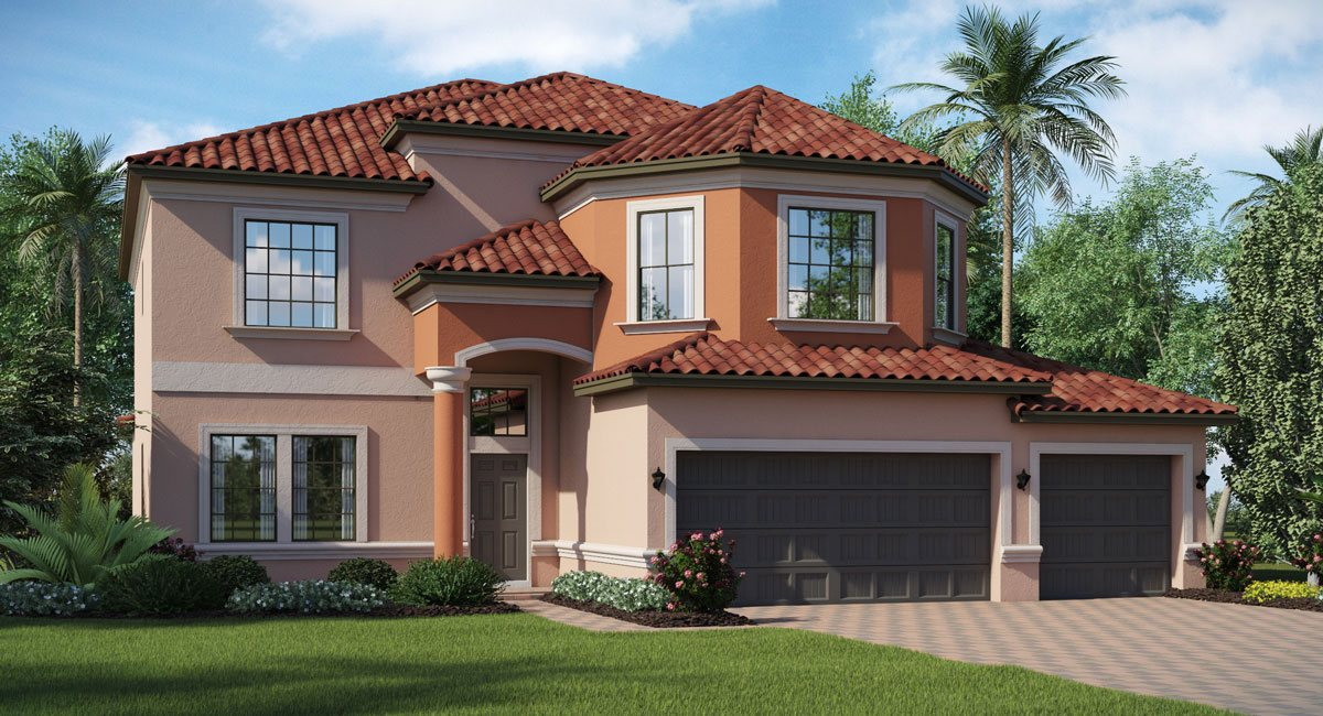 Concord-Station/The-Retreat/Wolcott 3127 sq.ft. 6 Bedrooms 3 Bathrooms 3 Car Garage 2 Stories Land O Lakes Florida