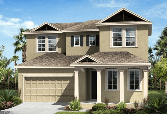 Ryland Homes Union Park Wesley Chapel Florida