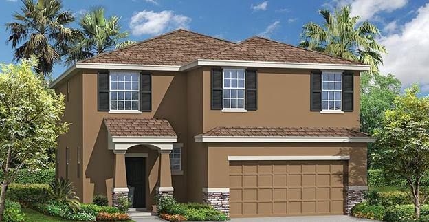 New Concrete Block Home Construction Riverview Florida