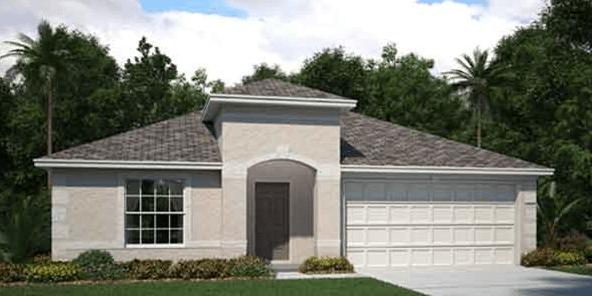 Ballantrae/Harrington 2,051 Square Feet 3 Bedrooms 2 Bathrooms 2 Car Garage 1 Story Riverview Florida