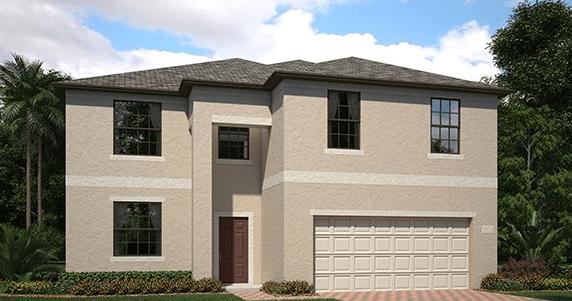 Ballantrae/Maple 2858 sq.ft. 5 Bedrooms 2.5 Bathrooms 1 Half bathroom 3 Car Garage 2 Stories Riverview Florida