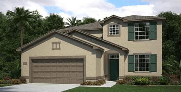 RIVERVIEW FL |THE MAYFLOWER | 2529 SQ FT | 2 Story | 4 Bed | Loft | 3 Bath | 2 Car