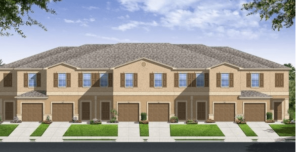 New Town Homes Hawks Pointe  Ruskin Florida
