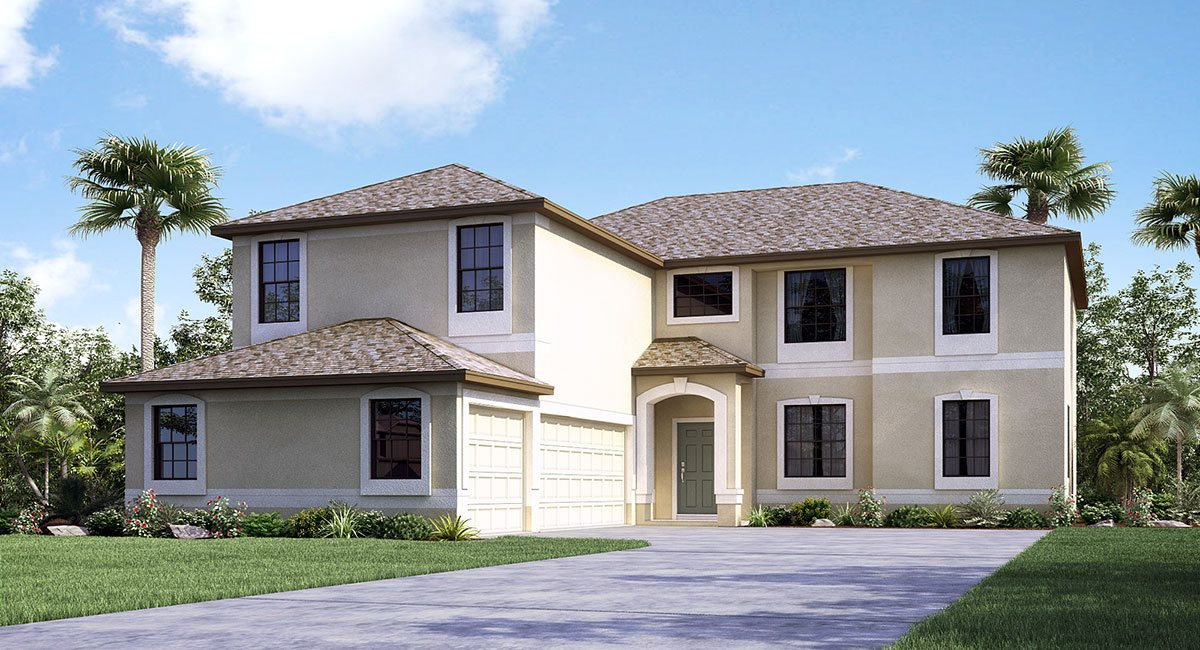 Sereno The Buckingham 3,711 sq. ft. 4 Bedrooms 3 Bathrooms 3 Car Garage 2 Stories Wimauma Fl