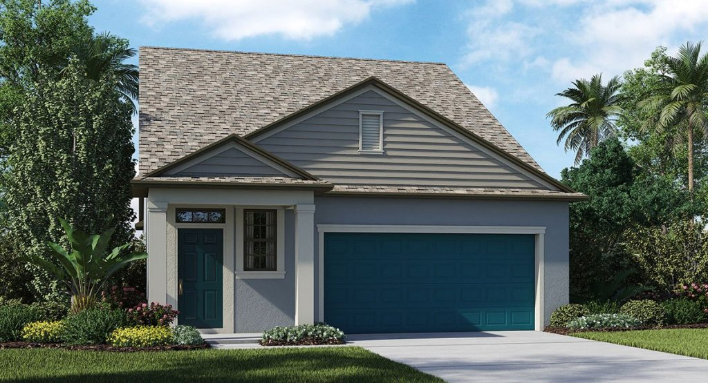 Connerton The Charlestown 1,956 sq. ft. 3 Bedrooms 2.5 Bathrooms 1 Half bathroom 2 Car Garage 2 Stories Land O Lakes Fl