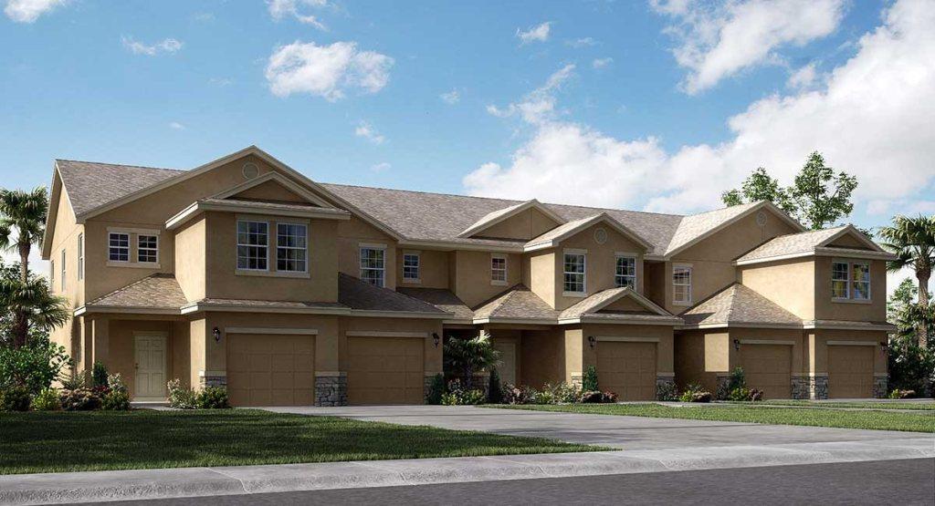 Chelsea Oaks Townhomes The Branford 1,377 sq. ft. 2 Bedrooms 2.5 Bathrooms 1 Half bathroom1 Car Garage 2 Stories Lakeland Fl