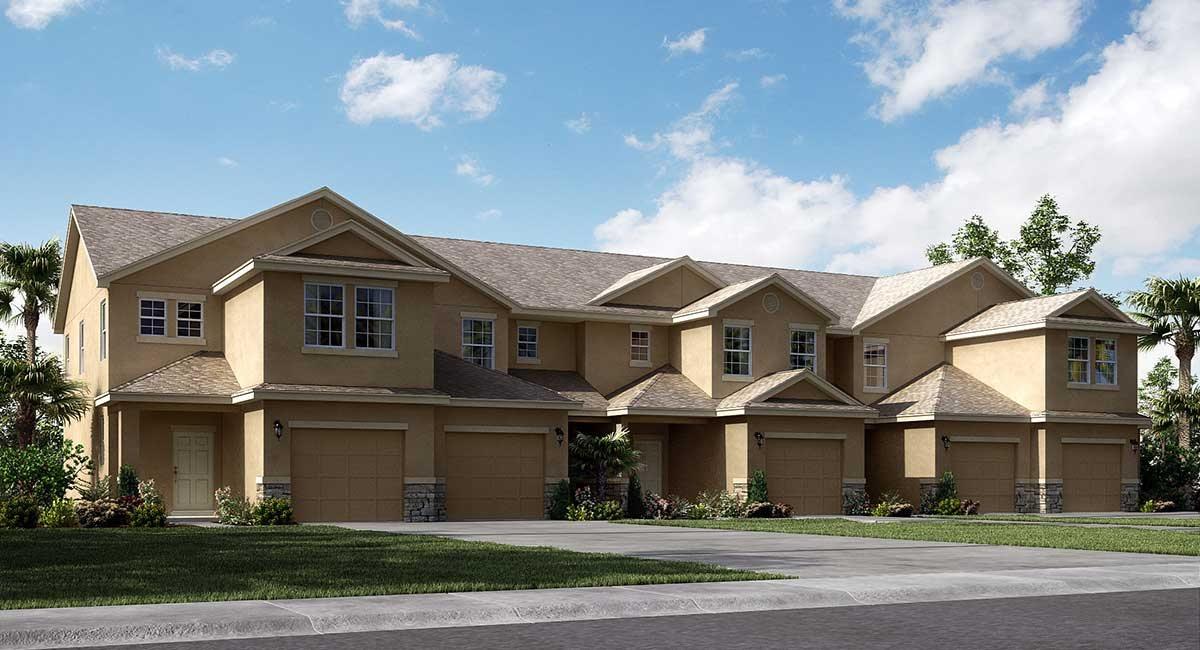 Lennar Homes Chelsea Oaks Lakeland Fl New Town Homes