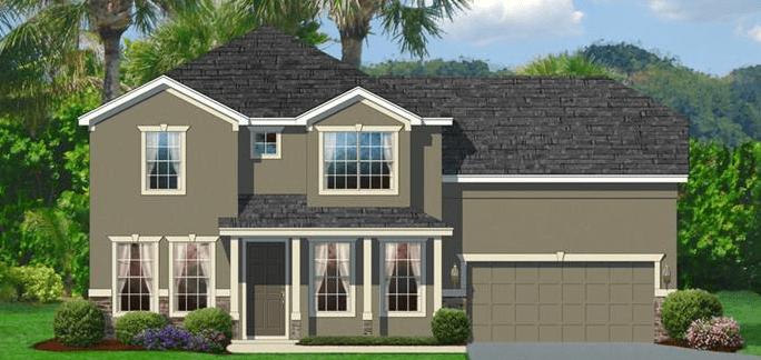 New Homes Highland Estates Wimauma Florida
